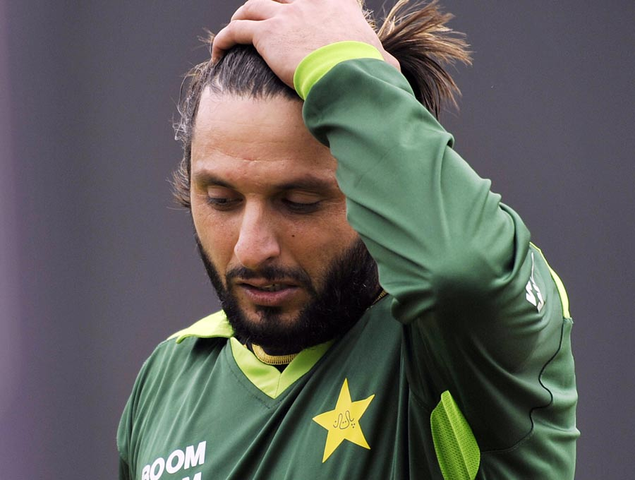 13001 - Afridi's spell at Hampshire in doubt