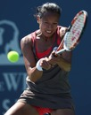 Anne Keothavong hits a return