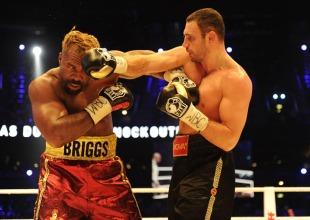David Haye dismisses Shannon Briggs' warning over Vitali