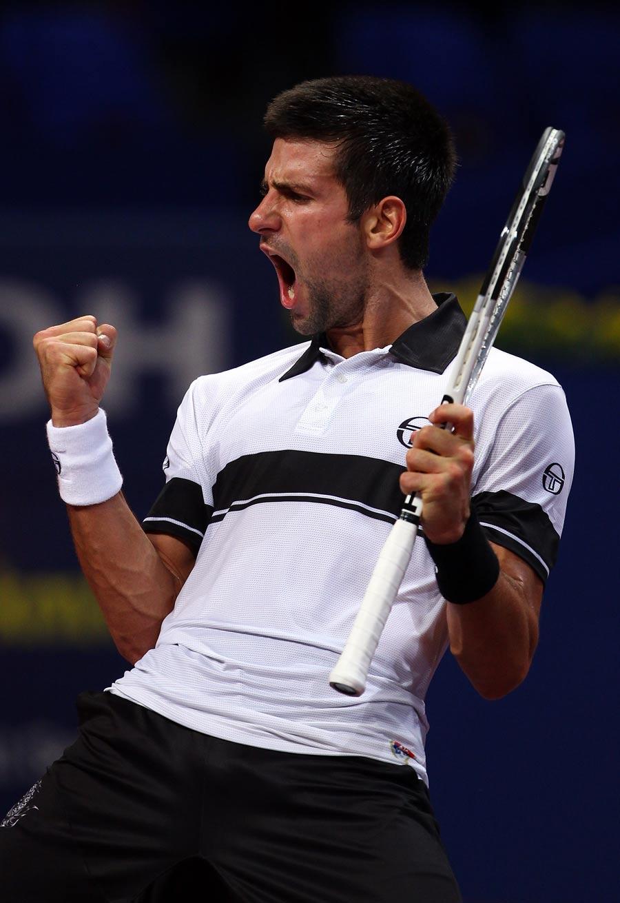 16189 - Djokovic has his sights set on the world No. 1