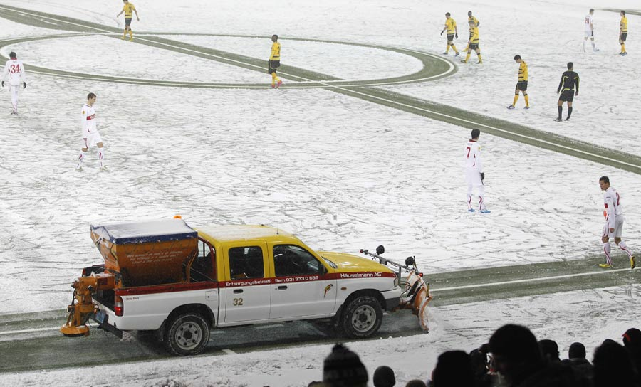 17597 - Liverpool and Everton games off due to bad weather