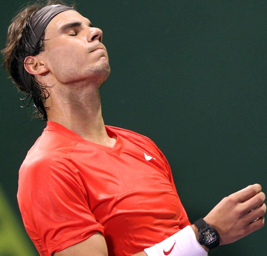 19030 - Nadal badly beaten by Davydenko in Qatar semis