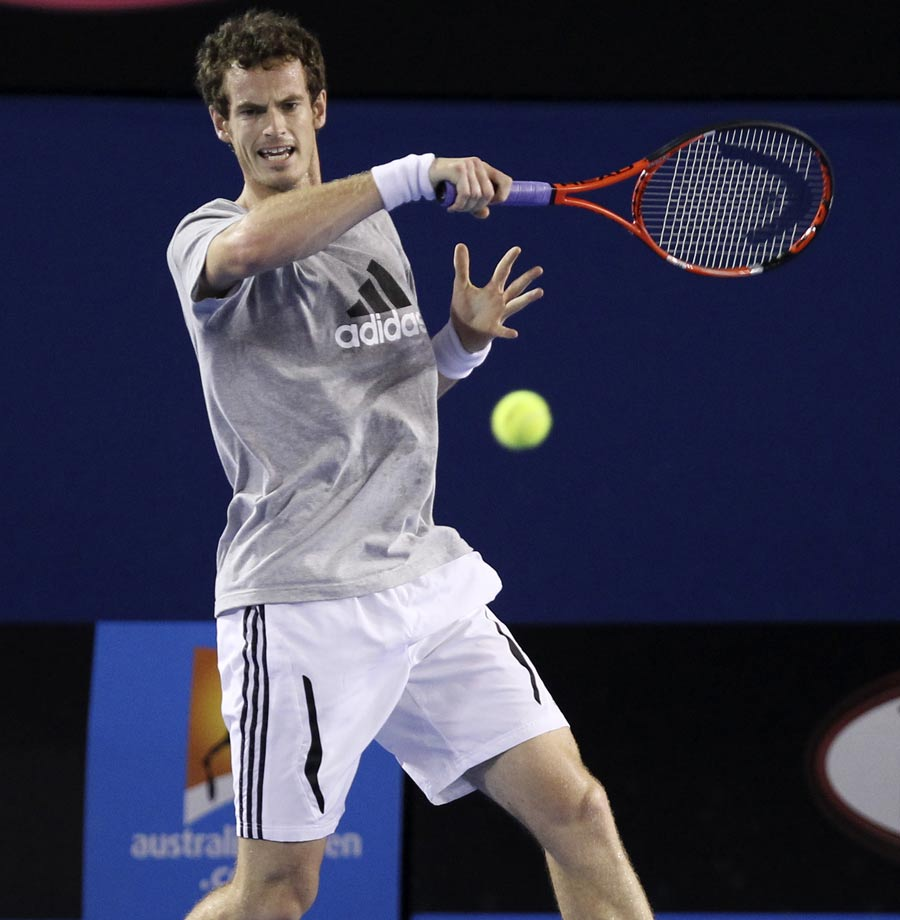 19268 - Andy Murray bullish about major chances