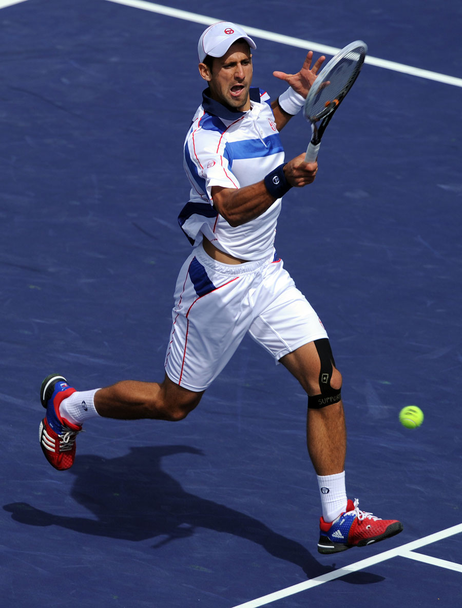 22177 - Djokovic downs Federer to set up Nadal clash