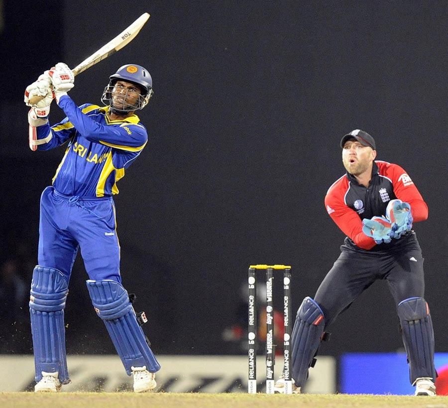 22443 - Upul Tharanga to miss England series