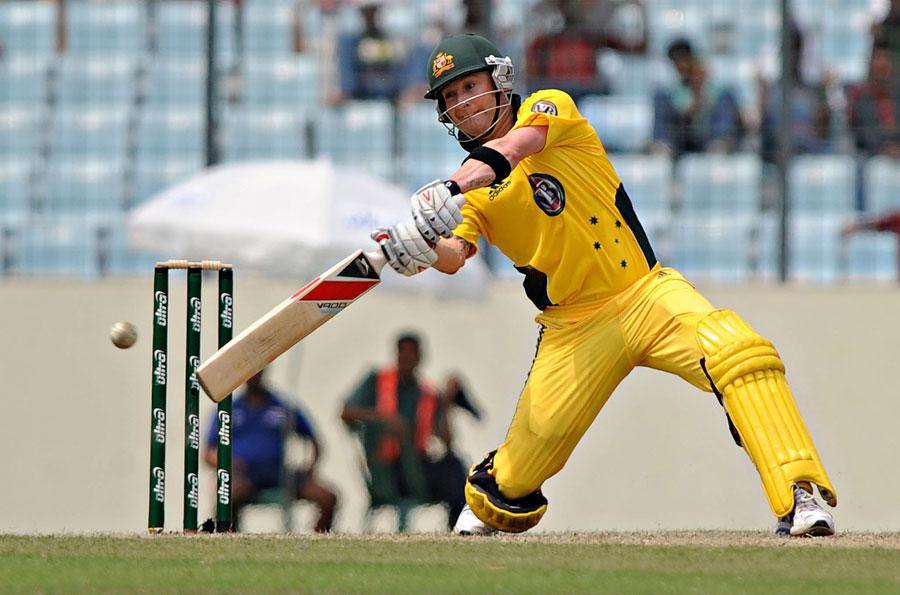 22963 - Captain Clarke hits century in Australia victory