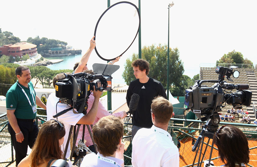 23107 - Stepanek awaits Murray in Monte Carlo