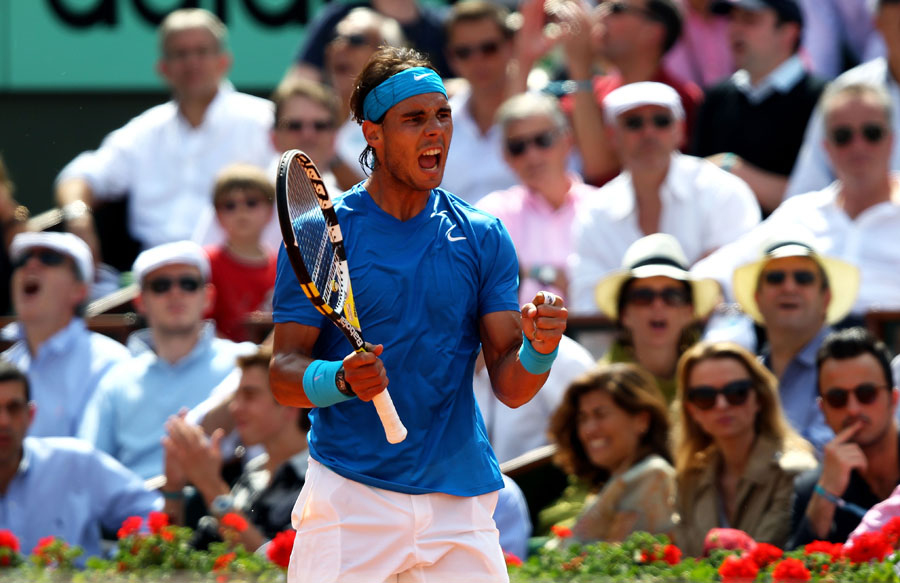 25484 - Nadal beats Federer to claim sixth French Open
