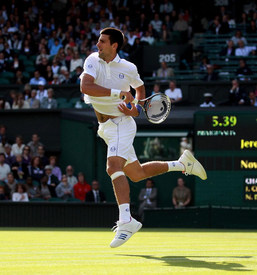 26097 - Djokovic hungry for Wimbledon glory