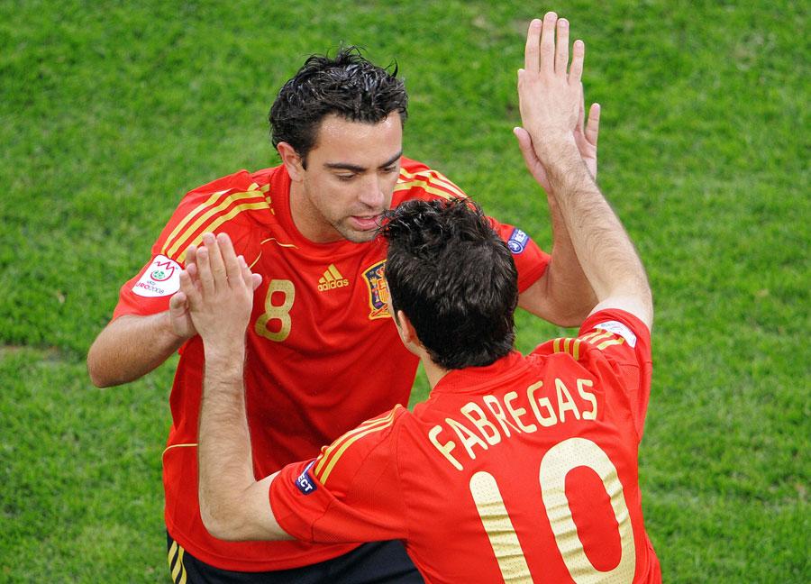26839 - Xavi again calls for Fabregas transfer