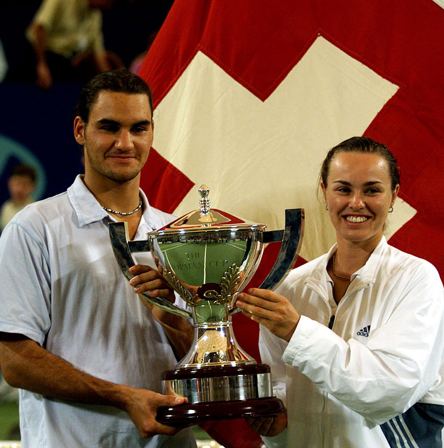 27451 - Hingis snubbed me for Olympic doubles - Federer