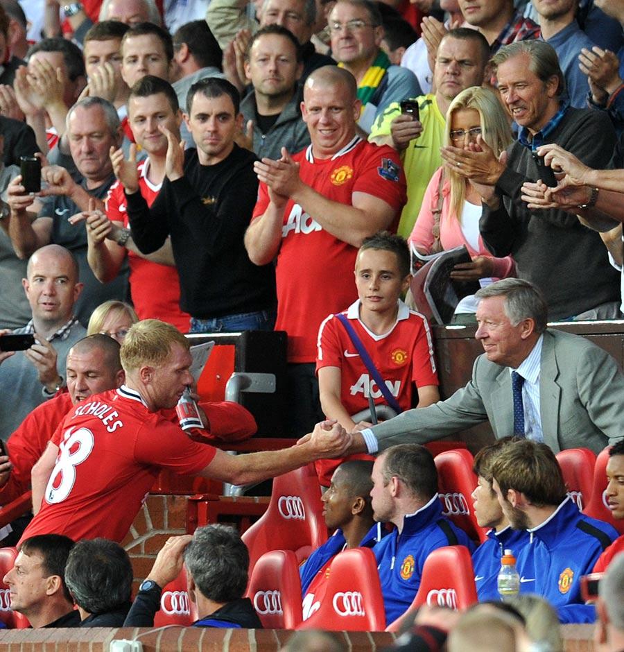 27548 - Paul Scholes rejoins United until end of season