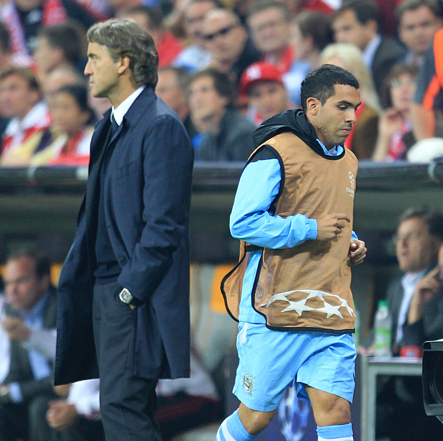 29714 - City reject Milan's €20m bid for Tevez