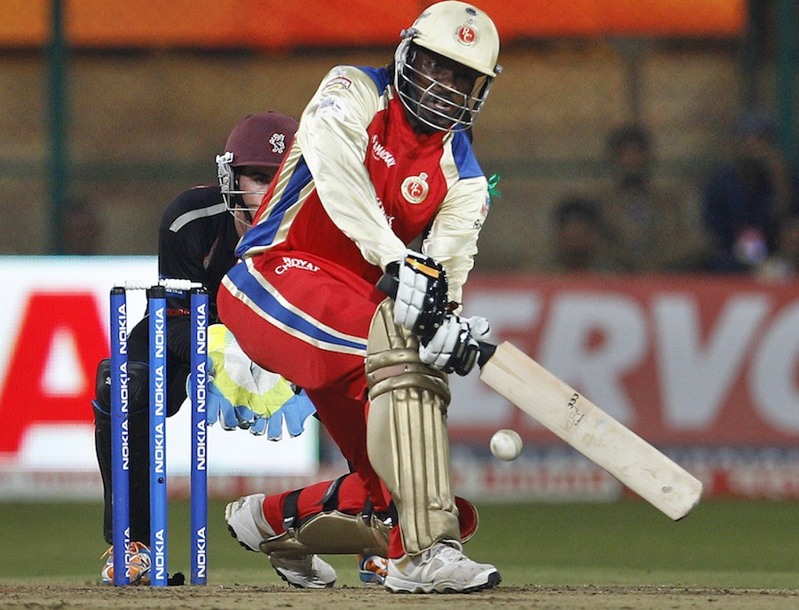 29934 - Chris Gayle signs for Somerset
