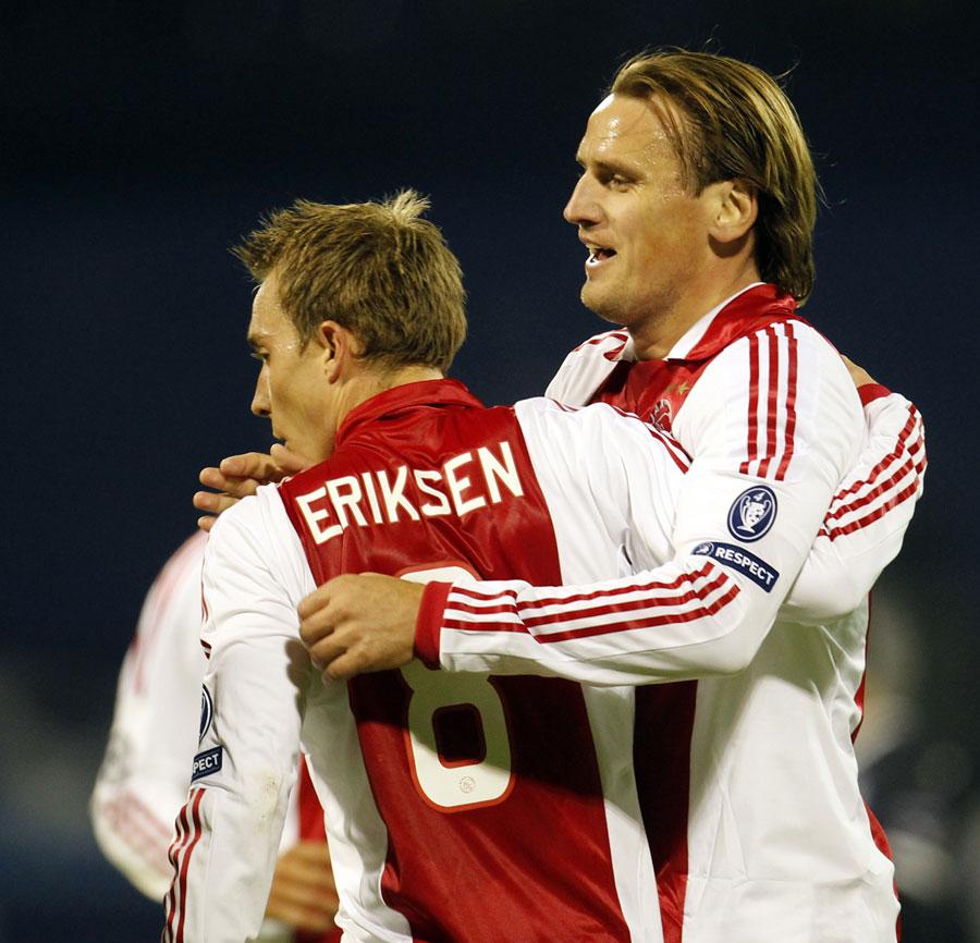 30422 - United chasing Ajax star Eriksen - Reports