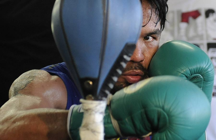 30741 - Pacquiao demands Mayweather Jnr as next opponent