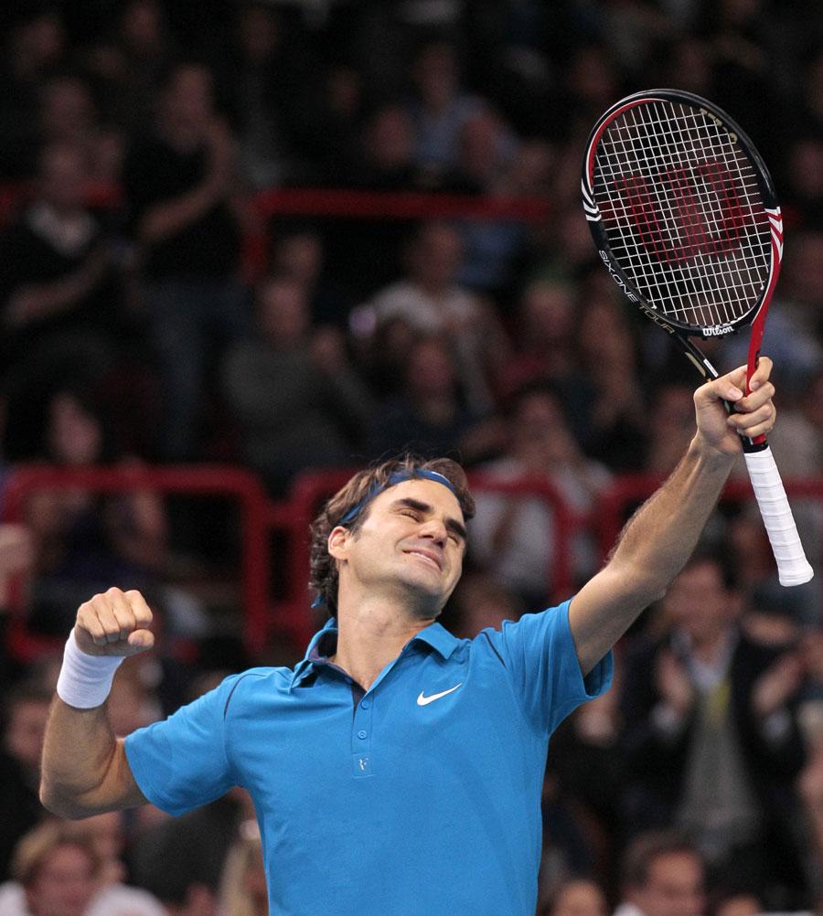 31507 - Federer sinks Tsonga to master Paris