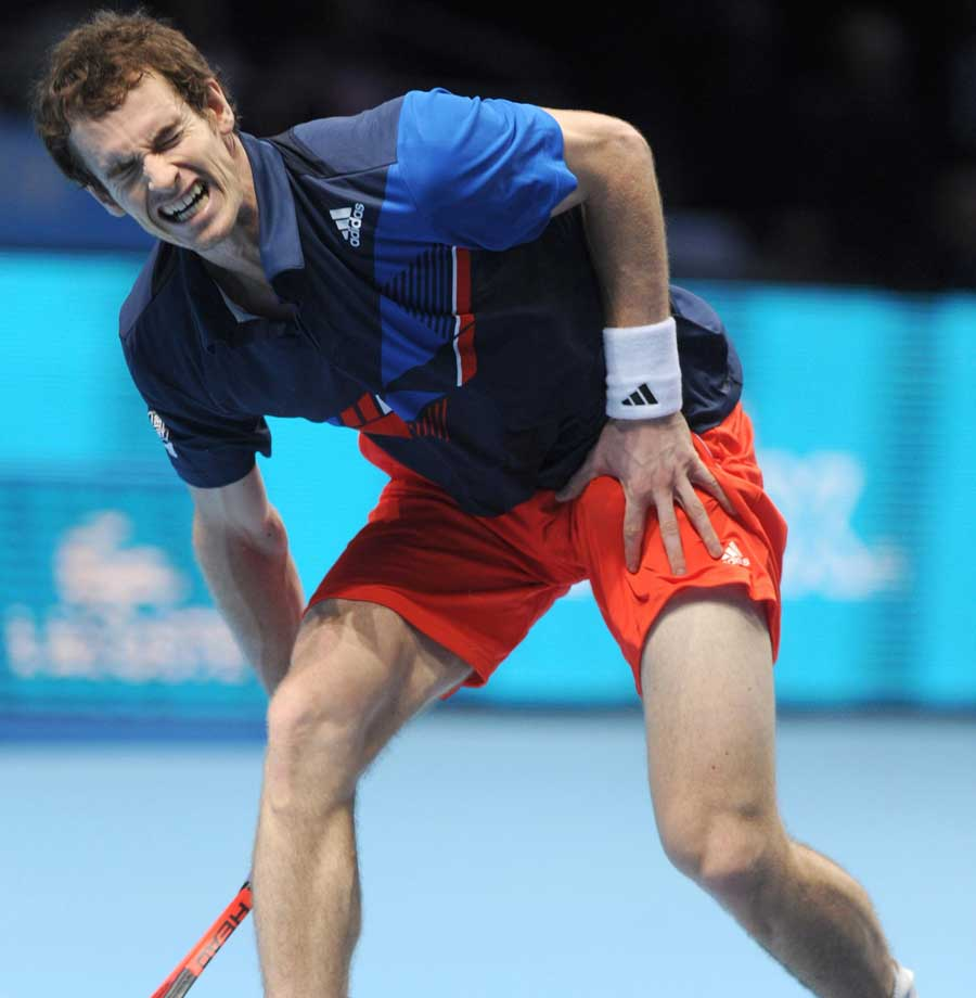 31764 - Murray arrives in Australia ahead of 2012 charge