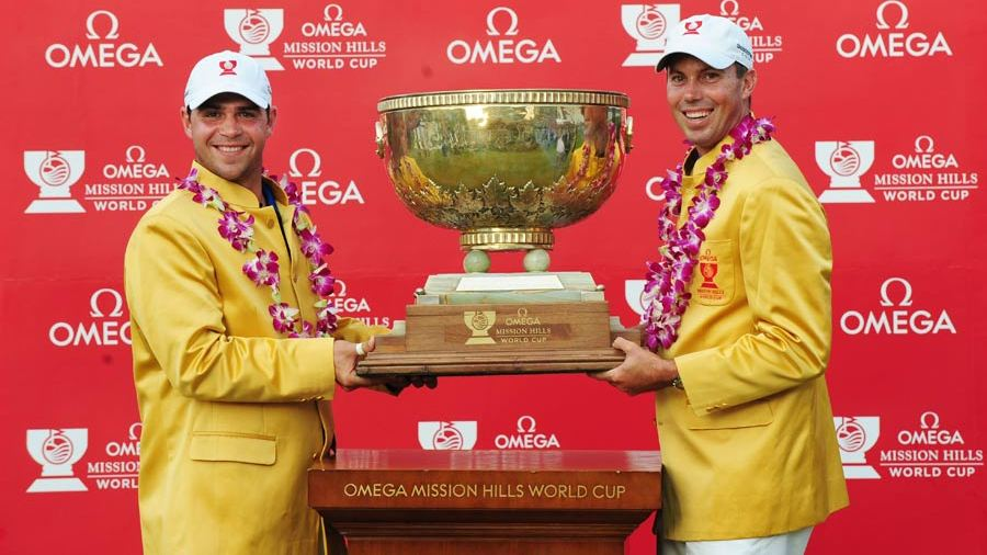 What of the golf World Cup?