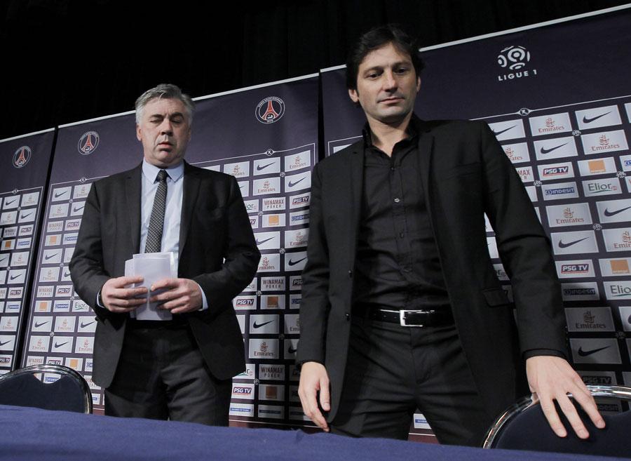 33012 - Ancelotti appointed PSG coach