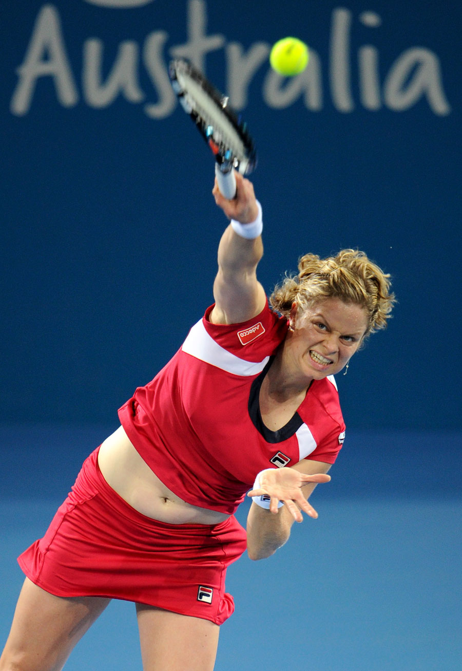 33221 - Kim Clijsters positive about fitness