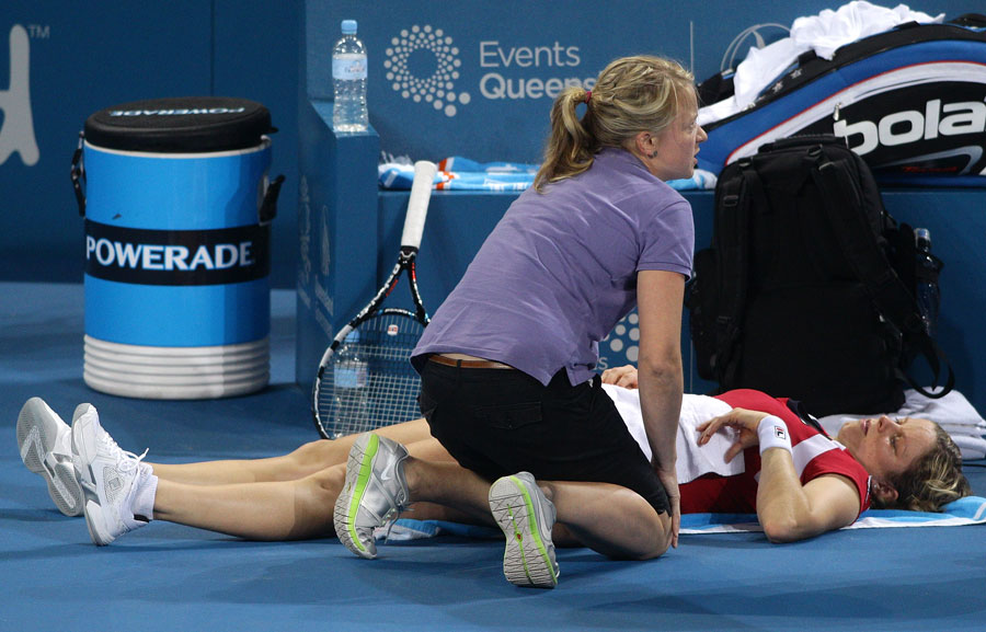 33249 - Fitness race for Clijsters after Brisbane withdrawal