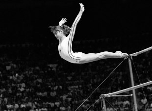 Rewind: A moment of perfection from Nadia Comaneci   London
