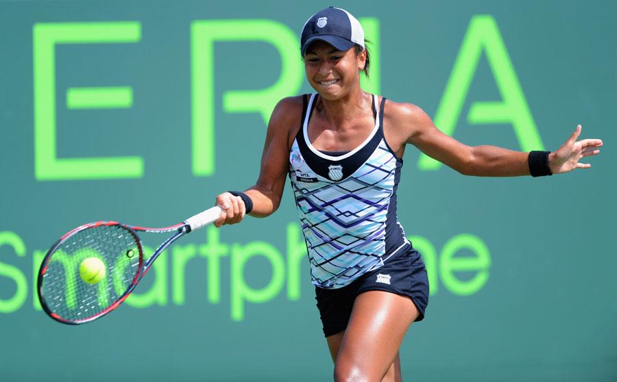 36131 - Watson stuns Safarova to set up Azarenka rematch