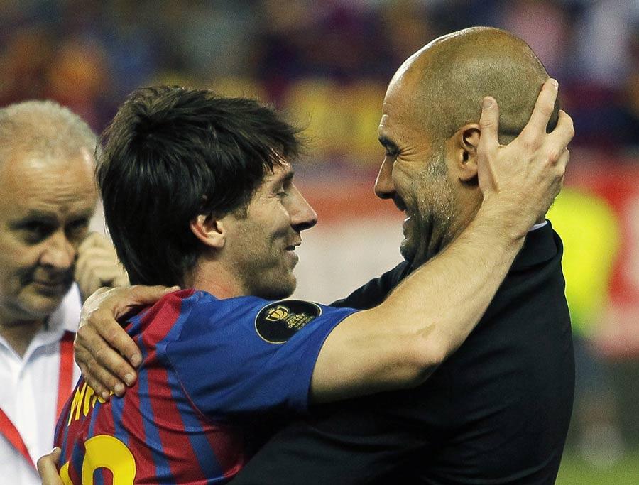 38334 - Messi 'surprised' at Guardiola exit