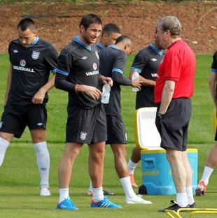 Euro 2012: Lampard cedera, Inggris khawatir - berita Liga Europa Liga Inggris