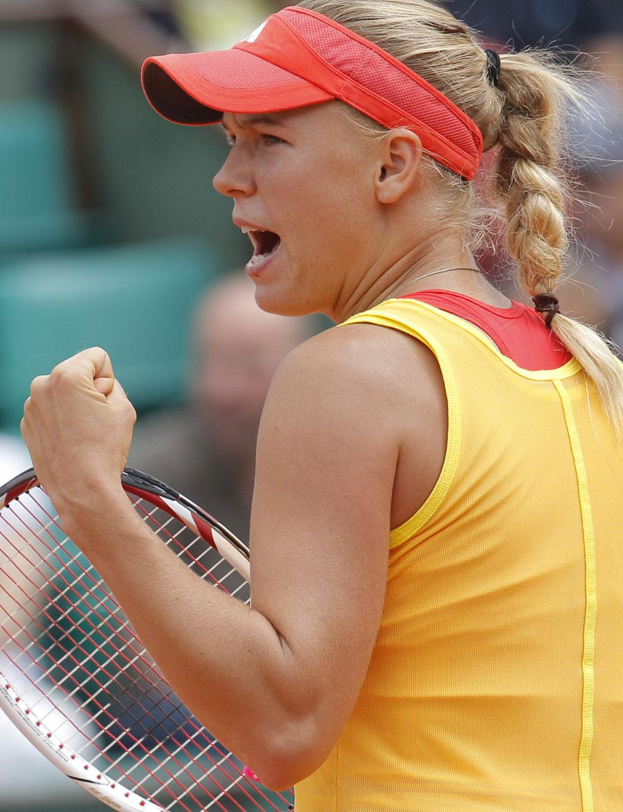 38541 - No dramas as Kvitova and Wozniacki progress unscathed