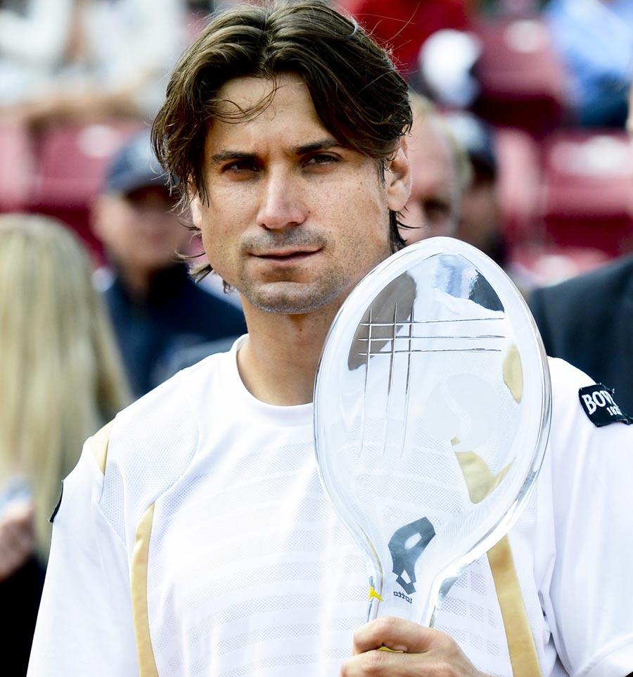 40136 - David Ferrer wins fifth title of the season in Sweden