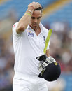 Kevin Pietersen fell to the second ball of day four