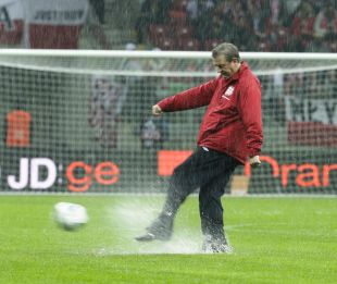 Farcical scenes as poland v england is called off for Farcical scenes