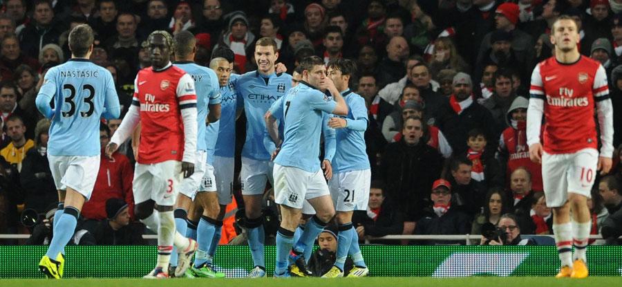 45310 - Koscielny red helps City sink Arsenal