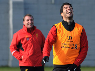Luis Suarez gets Liverpool manager Brendan Rodgers' player of the year backing | Football News | ESPN.co.uk