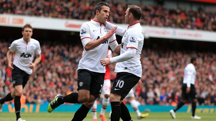 Van Persie Rooney Partnership Van Persie Partnership at