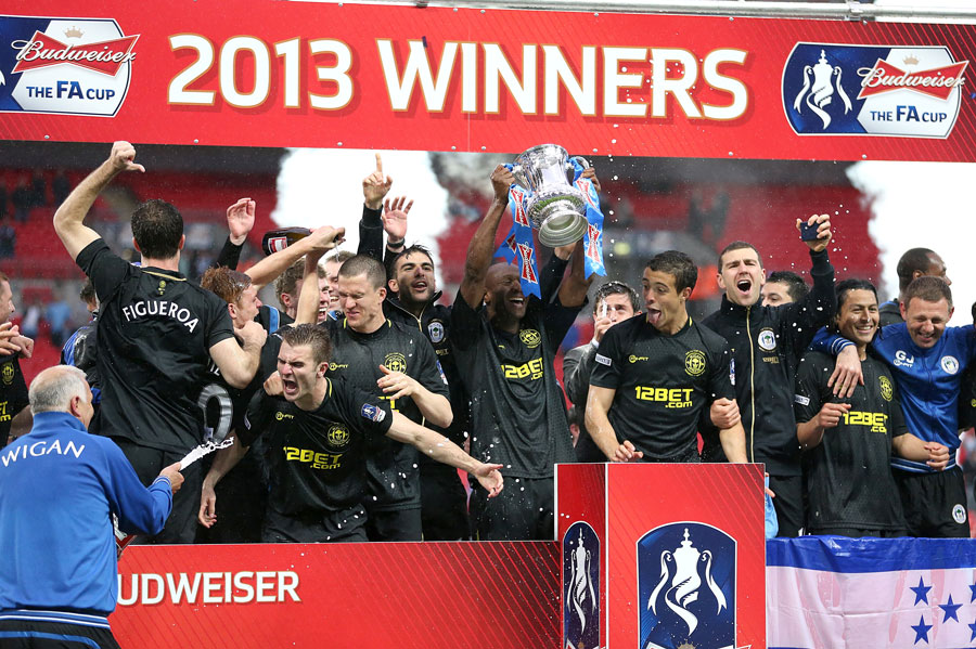 Wigan stun Manchester City to lift FA Cup at Wembley | Football Match report | ESPN.co.uk
