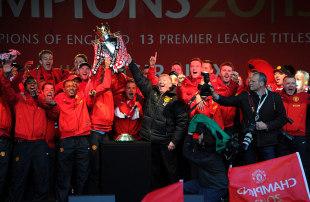 Sir Alex Ferguson: Celebrations better than 1999 treble-winning team at Manchester United | Football News | ESPN.co.uk