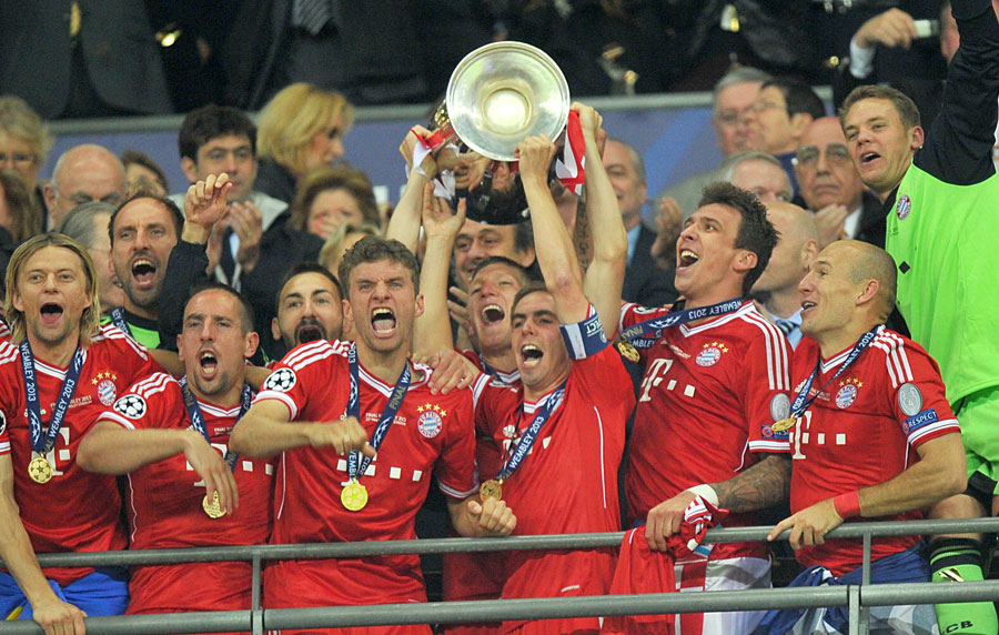 Bayern Munich Have Won The Champions League With A 2 1 Victory Over Borussia Dortmund Football News Espn Co Uk