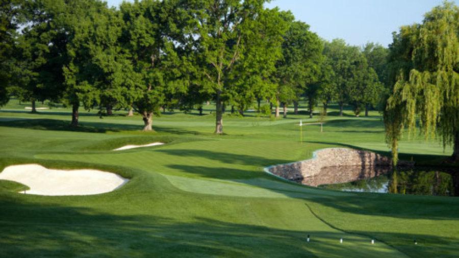 Early look at US PGA venue Oak Hill