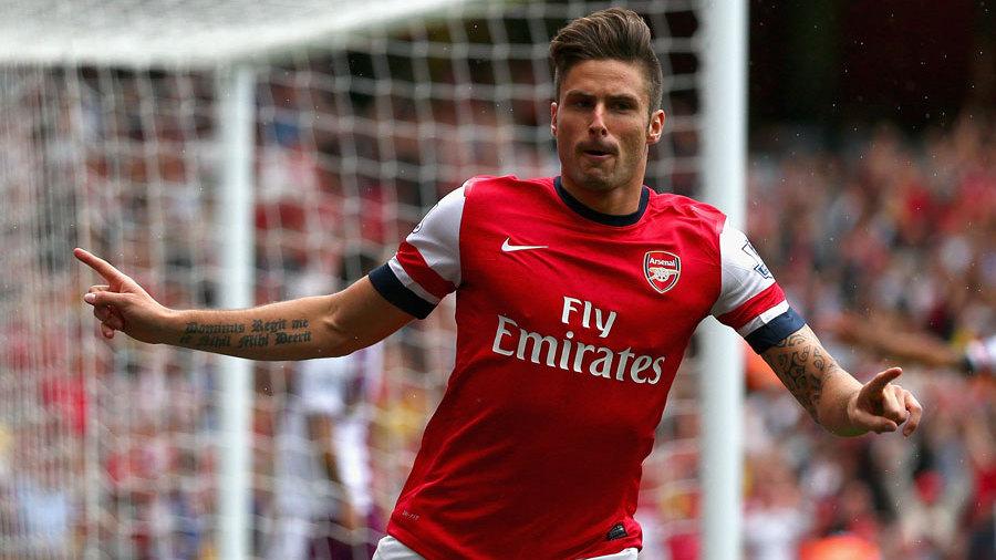 Olivier Giroud relishing lead role at Arsenal | Football News | ESPN.co.uk