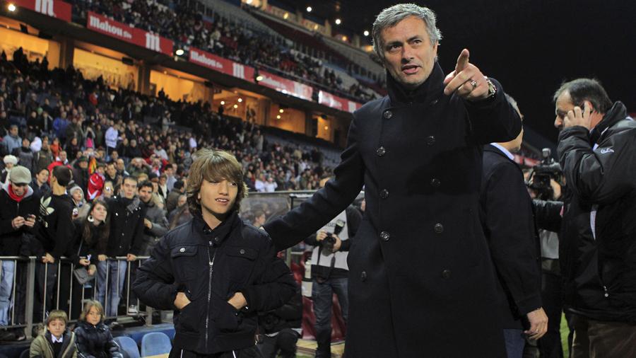 Mourinho Has Enough Medals To Throw Around   The18