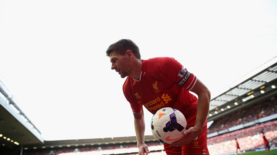Steven Gerrard: Liverpool not aiming for title | Football News | ESPN.co.uk