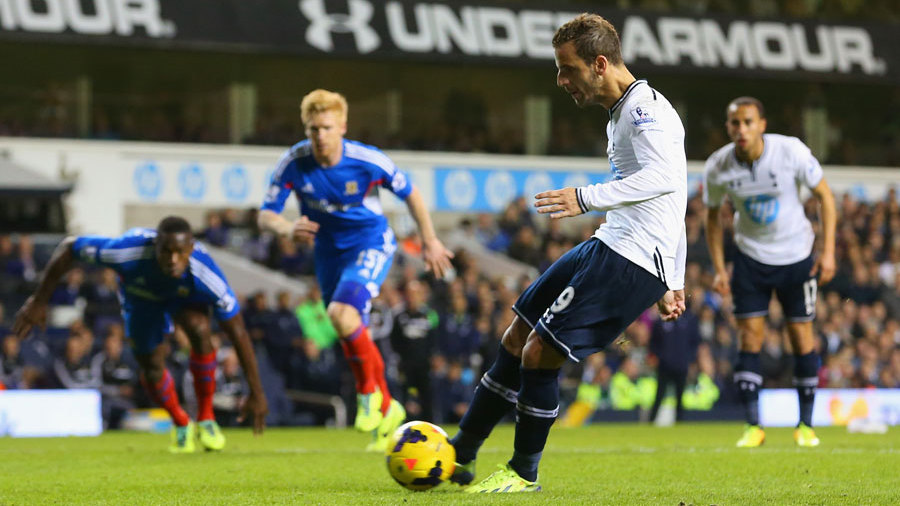 Tottenham 1-0 Hull: Soldado penalty enough as Spurs move into fourth | Football Match report | ESPN.co.uk