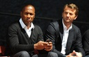 Les Ferdinand and Tim Sherwood look on