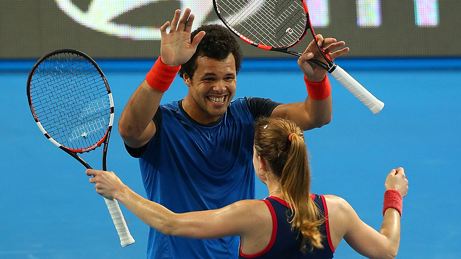 Wins For France And United States In Hopman Cup Tennis News Espn