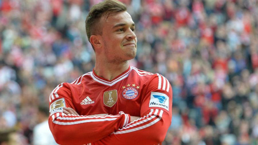 Xherdan Shaqiri Of Bayern Munich Will Listen To Liverpool And Manchester United Football News Espn Co Uk