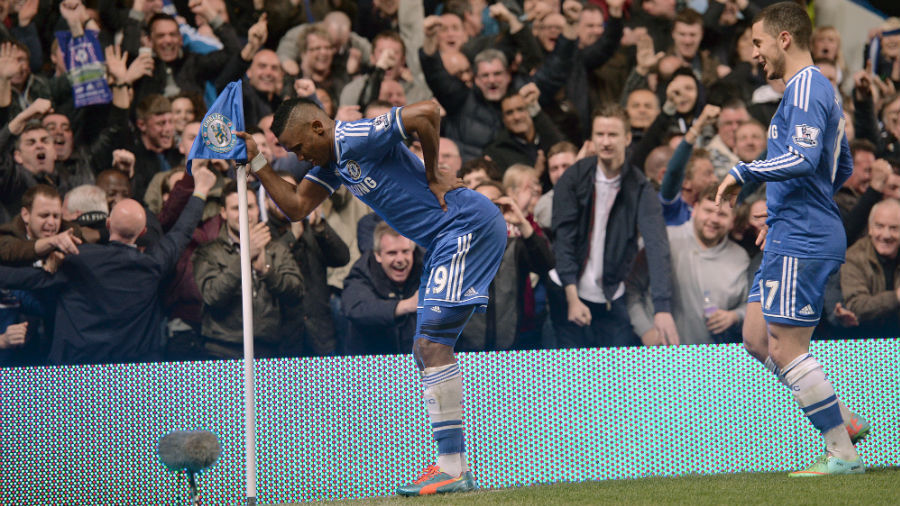 Chelsea 4-0 Tottenham: Old Man Samuel Eto'o makes fun of age controversy with celebration | Football Match report | ESPN.co.uk