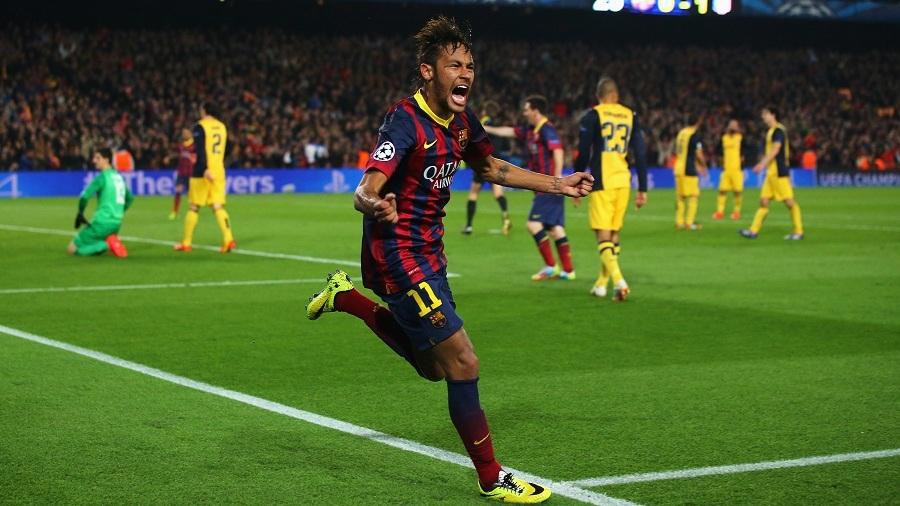 Neymar Salvages Draw For Barca Against Atletico Espn Staff